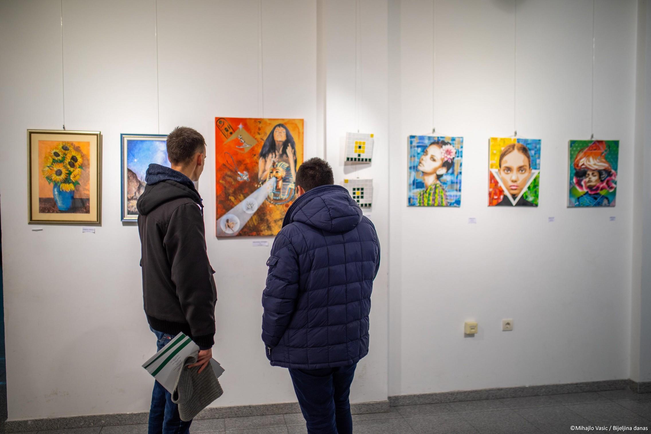 Bijeljina, Izložba ULU