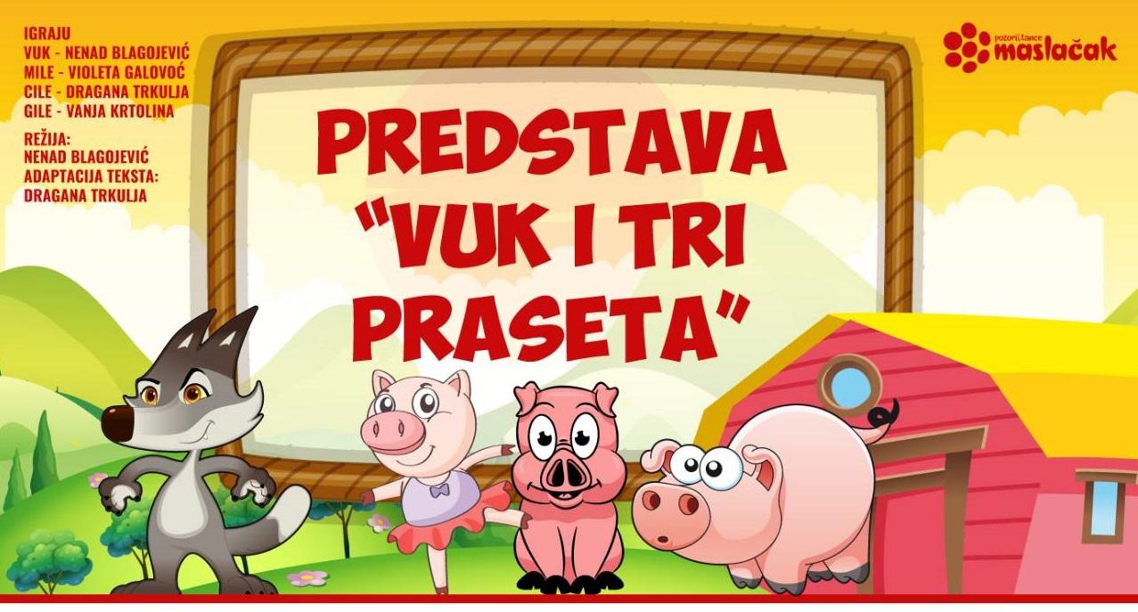 Bijeljina, Vuk i tri praseta CZK Semberija