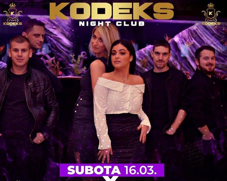 Bijeljina, Snežana Kačar i Imperium Band Klub Kodeks