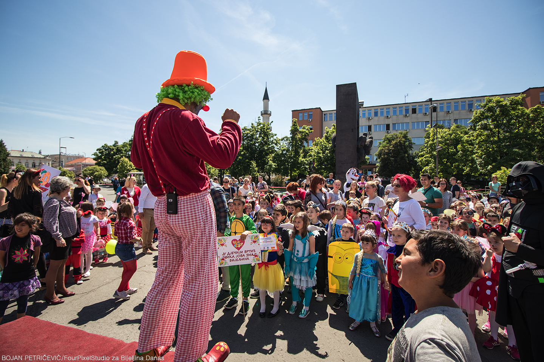 Dječiji karneval prvi put u Bijeljini (FOTO)