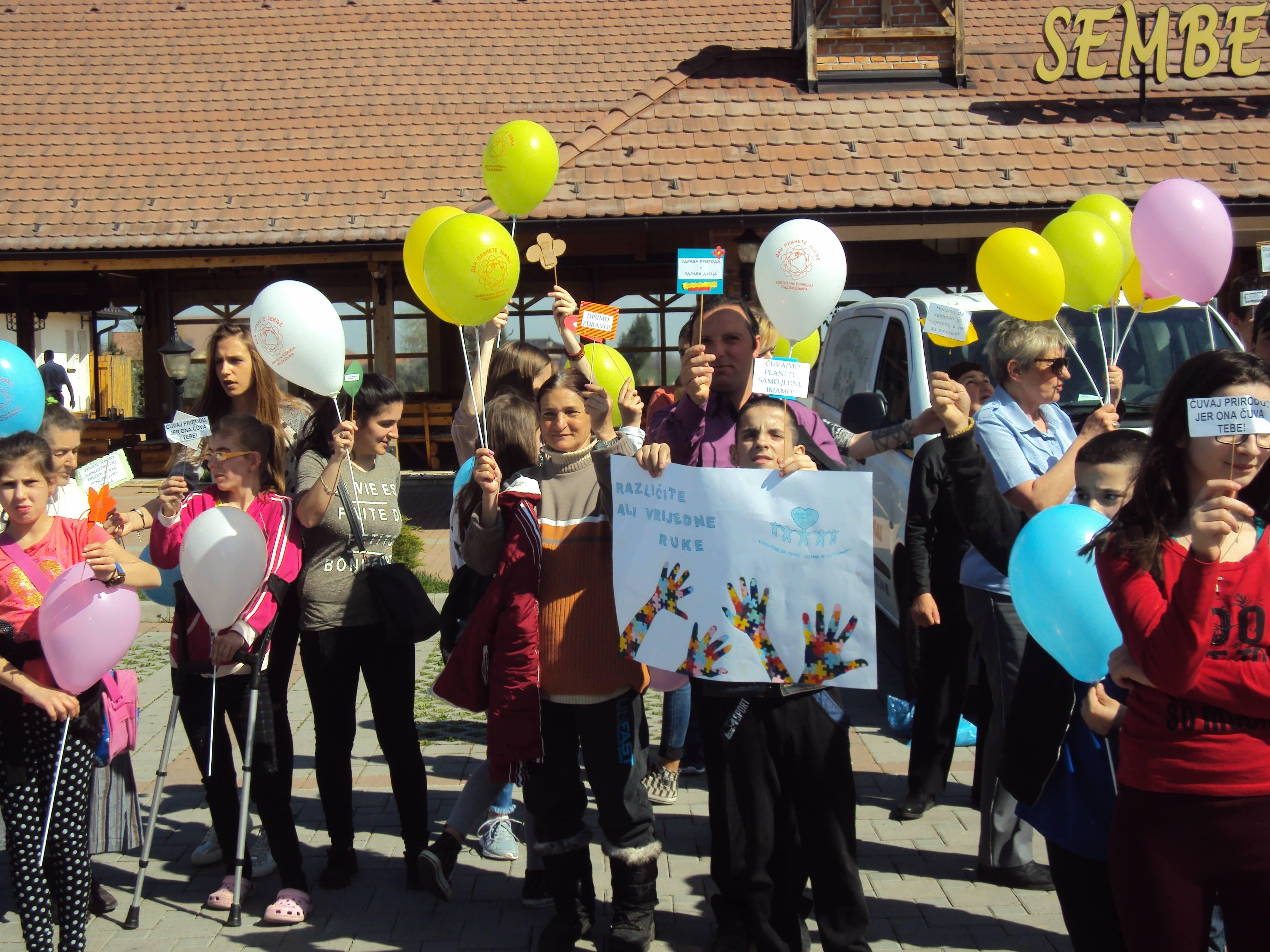 FOTO Ekološki izlet za djecu sa posebnim potrebama i korisnike Dnevnog centra