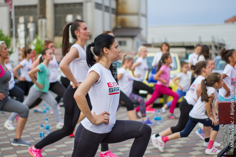 FOTO Održan drugi javni trening aerobika