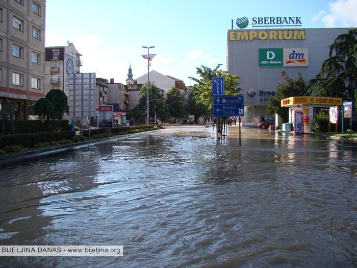 FOTO: Dan sjećanja na majske poplave u Bijeljini 2014. godine