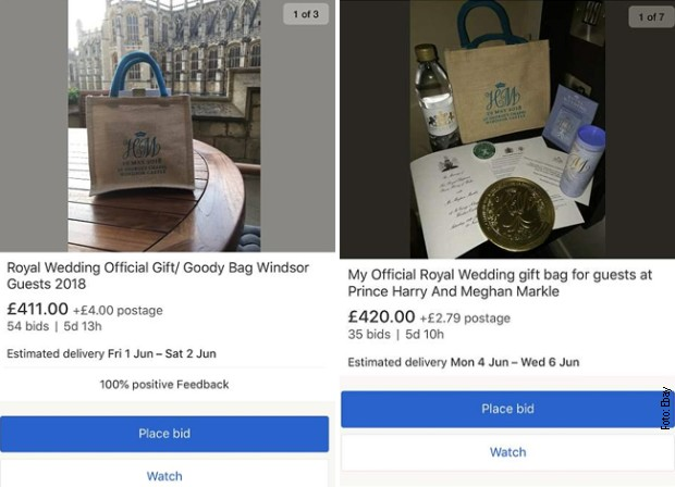Gosti sa venčanja prodaju na internetu torbice sa poklonima
