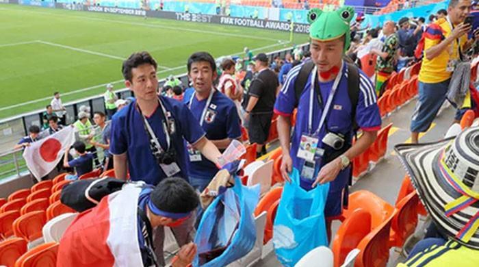 Svjetsko prvenstvo: Japanski navijači zadivili čišćenjem stadiona