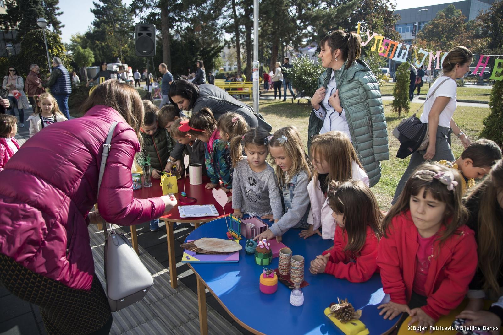 FOTO Mališani iz vrtića Čika Jova Zmaj obilježavanju Dječiju nedelju