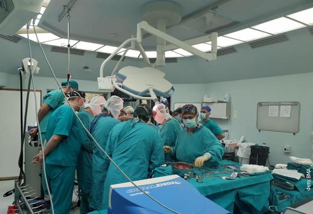 Još jedan uspeh lekara VMA – odstranjen tumor težak 25 kilograma