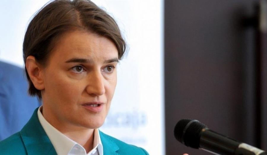 Brnabić: Srbi na KiM na ivici humanitarne katastrofe