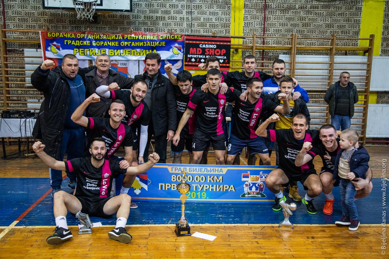 """FOTO """"Sloga LaVita"""" pobjednik Zimske lige u malom fudbalu"""