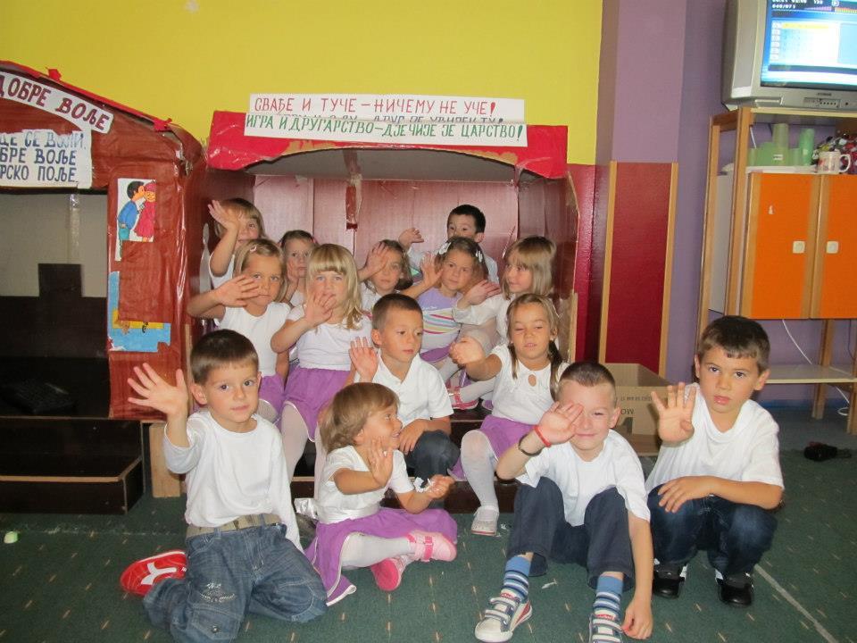 Priprema za polazak u školu u Loparama za 15 mališana