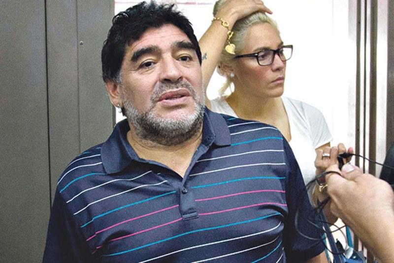 Uhapšen Maradona