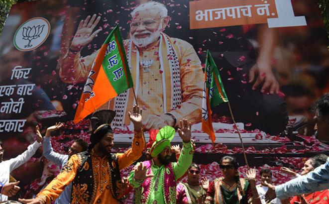 """Pobjedile i """"svete krave"""": Epilog istorijskih izbora u Indiji"""
