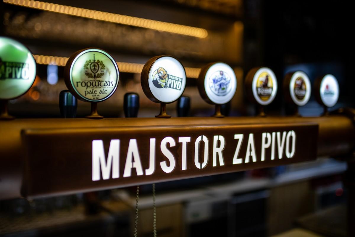 Prijatan ambijent, vrhunska hrana i ono najvažnije - 50 vrsta zanatskog piva!