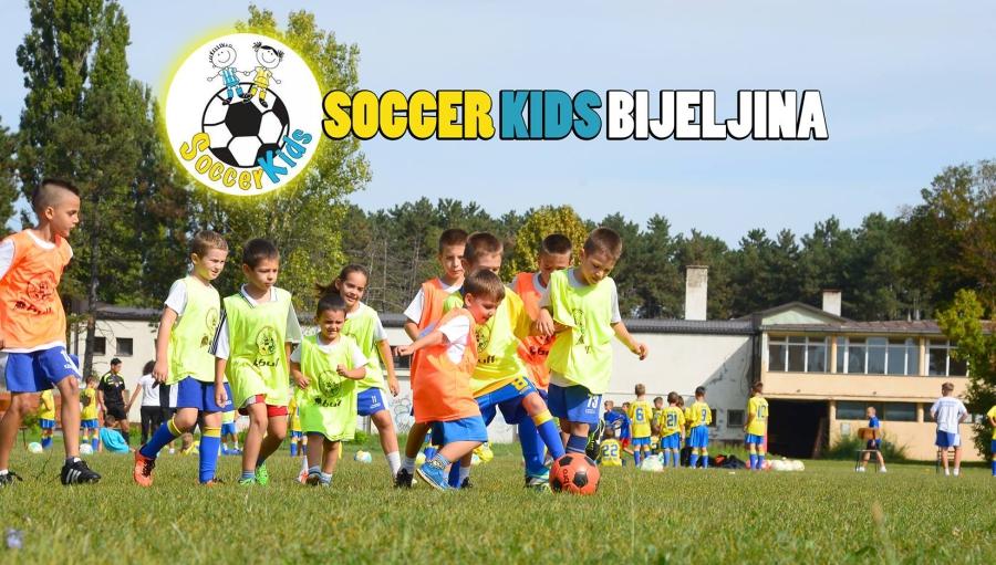 IDEMO DALJE! 10. godina škole fudbala Soccer kids Bijeljina