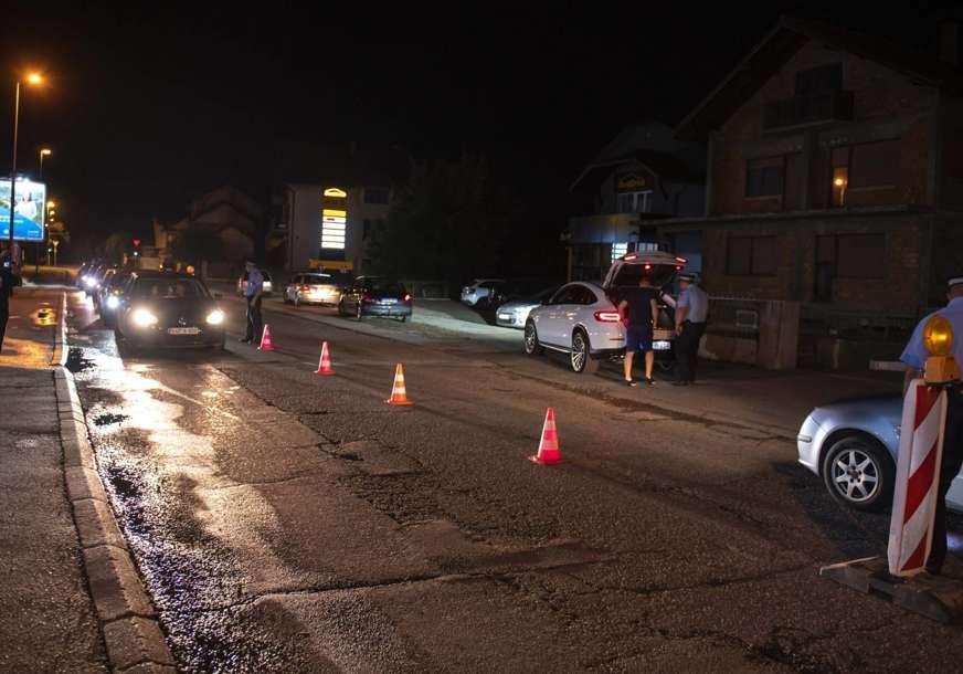 Policija pisala prekršaje i danju i noću: Lijevak u Bijeljini, kontrolisano svako vozilo