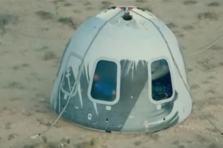 """Bezos uspješno obavio let u svemir: """"Ovo mi je najsretniji dan"""""""
