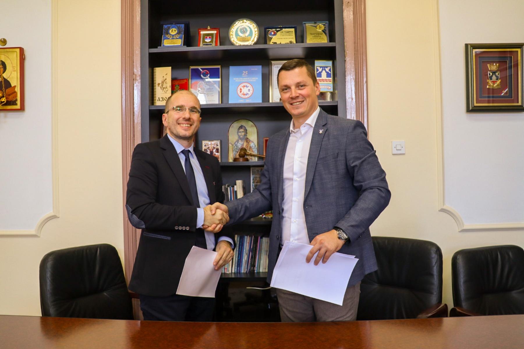 Studenti uskoro na praksi u Skupštini grada Bijeljina: Đurđević i Marković potpisali Memorandum o saradnji