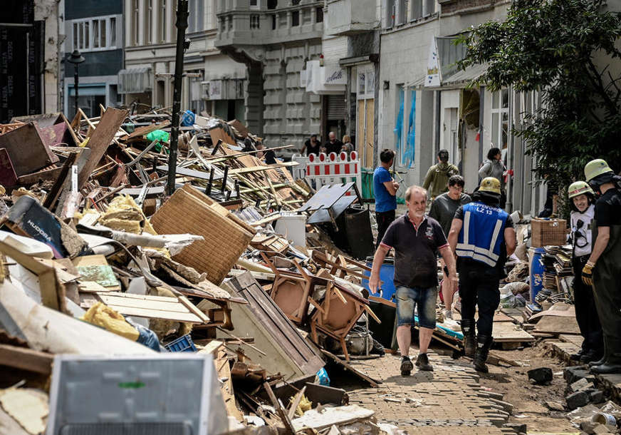 Osiguranja procjenjuju štetu od poplava u Njemačkoj na pet milijardi evra