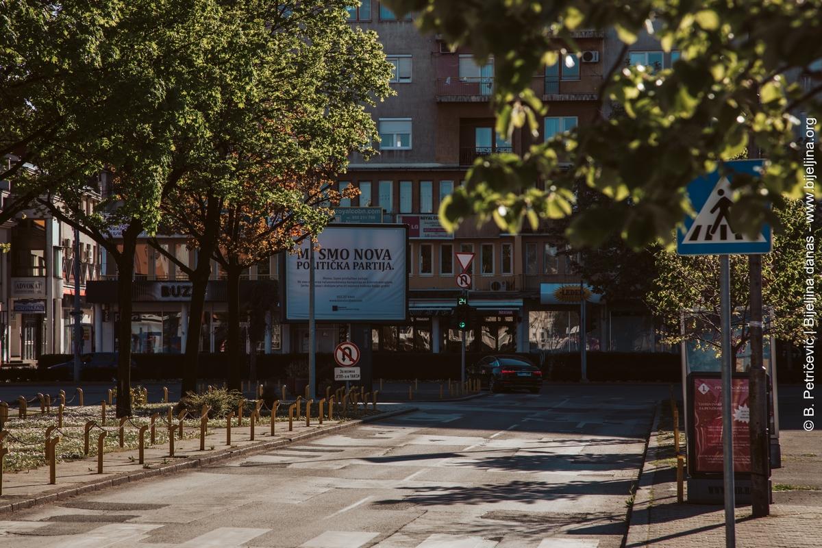 16-22. septembar: Ulica Vuka Karadžića samo za pješake