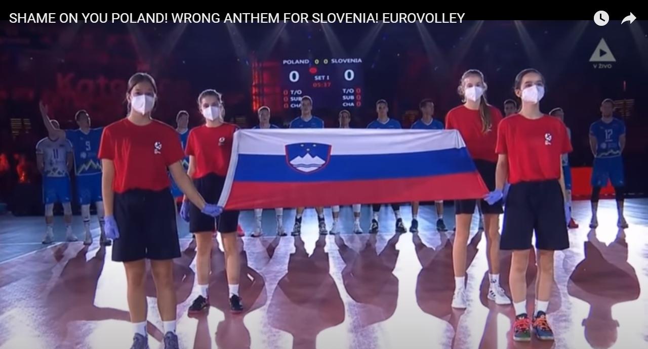 """VIDEO Slovencima pustili """"Bože pravde"""""""