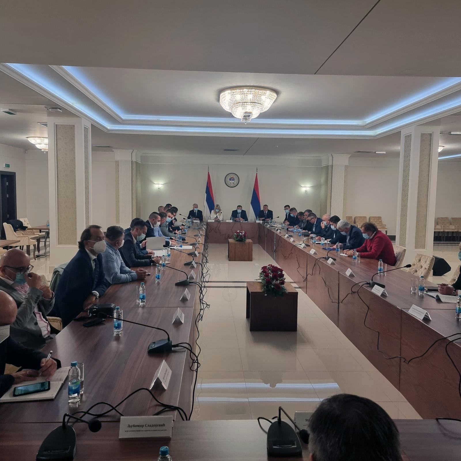 U toku sastanak zvaničnika Republike Srpske sa direktorima bolnica